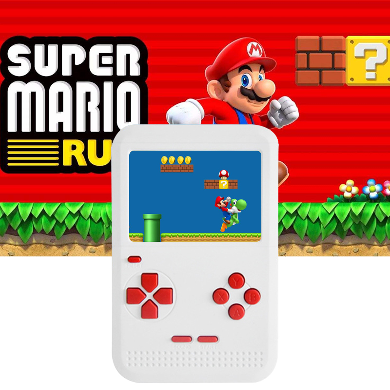 Video Game Console Handheld Game Console 3 Inch 400 Games Retro FC Game Player Classic Game Console Games Consola retro Handheld(China)