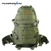 Tactical Backpack Muti Pockets Hiking Rucksacks Molle Notebook Backpack 1000D Nylon Trekking Large Sports Bag