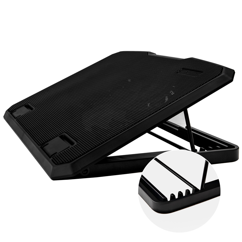 1 Pc Cool 6-Adjustable Slient High-Speed 2-Fan Laptop Cooling Pad for Laptop & Office & Home &Computer
