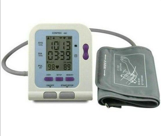 CE FDA Digital Blood Monitor USB Software CD Included CONTEC08C BP Monitor, Tensiometer