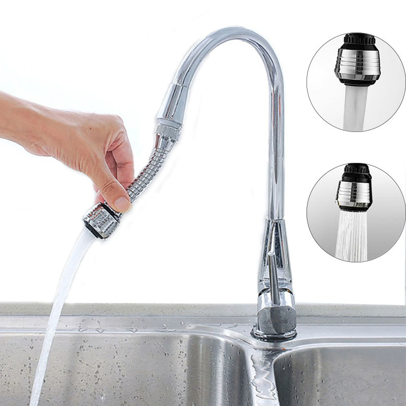 Universal 360 Degrees Rotatable Faucet Nozzle Filter Water Saving Sink Washing Spray Head Water Bubbler Diffuser Bathroom Tool