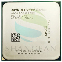 AMD A-Series APU X4 A10-6800K A10 6800K FM2 Quad-Core CPU 100% Desktop Processor