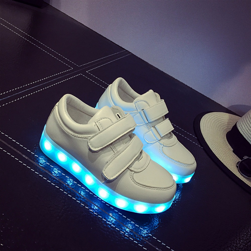 Led Sneakers Classic Strap Kids 5
