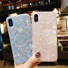 ФОТО Hxairt Glitter Phone Case  iPhone Dream Shell Pattern Cases  iPhone X 8 7 6 6S  Soft TPU Silicone Back Cover