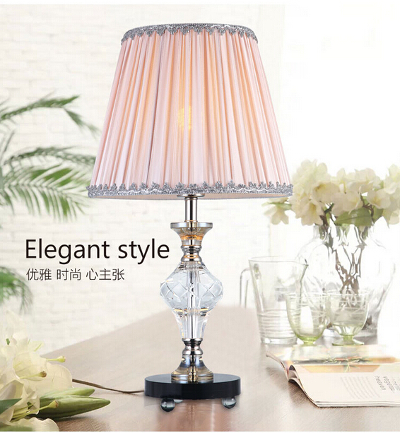 Decorative table lamp creative fashion minimalist living - Elegant table lamps for living room ...