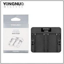 YONGNUO yn750c двойной Батарея Зарядное устройство для YONGNUO NP-750 для Sony NP-F570 np-f770 NP-F970 npf975 970