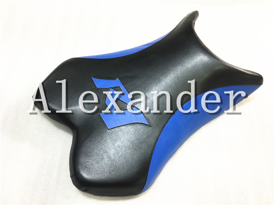 For Yamaha YZF1000 R1 2004 2005 2006 Black And Blue Motorcycle Front Driver Rider Seat Cushion Pillow Pad YZF 1000 YZFR1