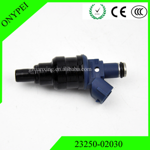Image 1 - 1 pcs 23250 02030 23209 02030 Fuel Injector Nozzle For 92 97 Toyota Carina E AT190 4AFE AT191 7AFE 0280150439 2320902030