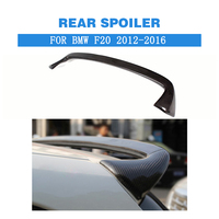Carbon Rear Roof Spoiler Top Window Wing For BMW 1 Series F20 F21 116i 118i 120i 135i M135i 2012 2018 FRP Unpainted