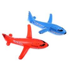 1 шт. надувной самолет надувная игрушка самолет мультфильм ПВХ пластиковые шары игрушки-Самолеты баллон ребенок подарок на день рождения классические игрушки