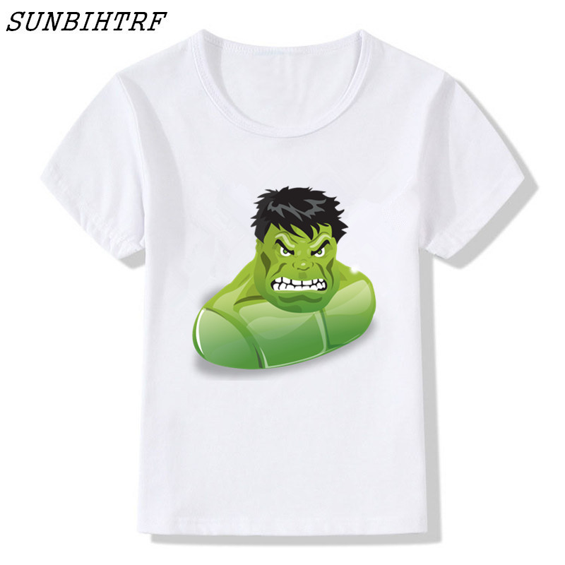 f8866f7a T Shirt Captain America Children Tee 3D Printed Kids T shirts Marvel  Avengers 3 Hulk Baby Fitness Baby Funny Clothing Tops-in T-Shirts from  Mother & Kids on ...