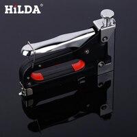 HILDA Nail Staple Gun Furniture Stapler For Wood Door Upholstery Framing Gun