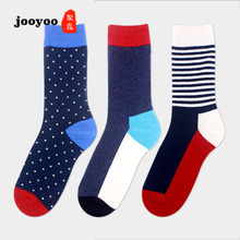 jooyoo Socks Men's Euro-American Fashion Brand Medium-high Barrel