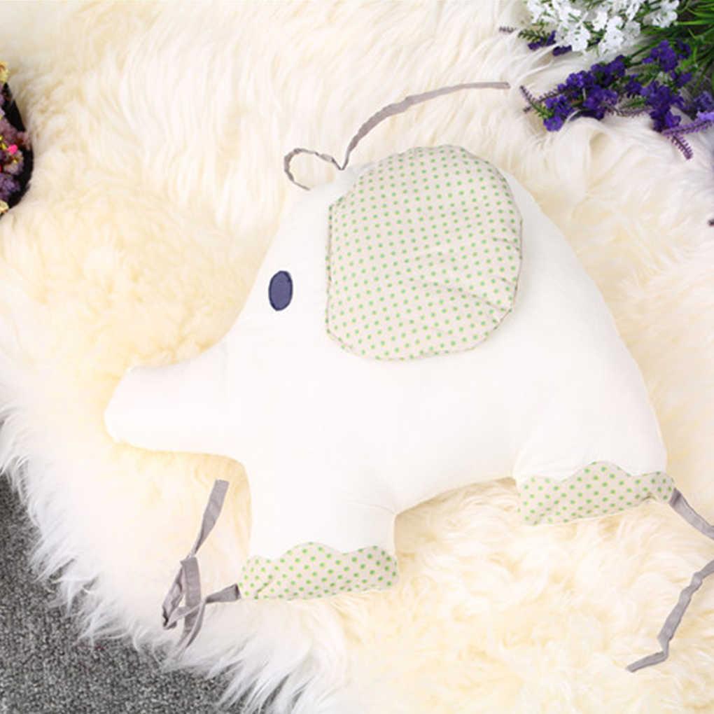 תינוק עריסה מיטת פגוש 6 pcs יילוד משענת כרית בעלי החיים פיל תינוקות לפעוטות מצעים סביב הגנה
