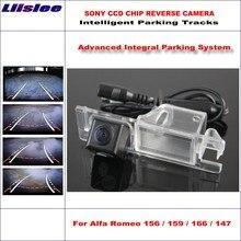 Liislee Car Rear Back Camera For Alfa Romeo 156 / 159 166 147 Rearview Parking 580 TV Lines Dynamic Reverse Tragectory