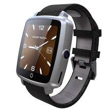 Leather Strap Smartwatch SIM Watch for iPhone Xiaomi HTC Xiaomi Meizu Huawei Samsung S6 S5 S4