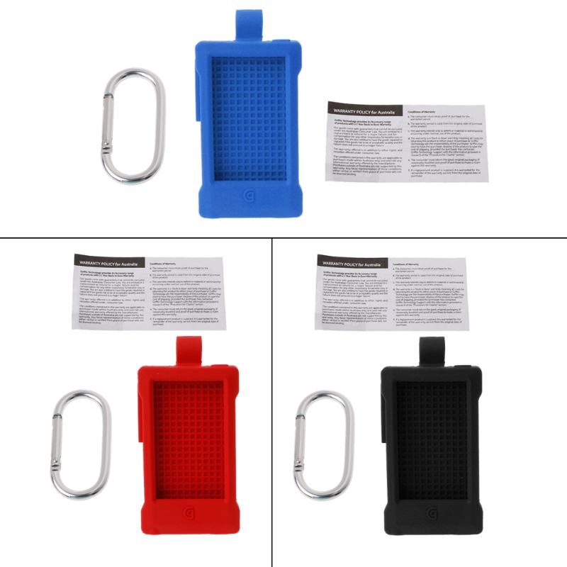 New Silicone Case Protective Skin Cover With Carabiner For iPod Nano 7 Outdoor Sport image