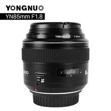 YONGNUO YN85mm F1.8 Dellobiettivo di Macchina Fotografica per Canon EF Mount EOS 85 millimetri AF/MF Standard Medio Teleobiettivo Lenti Fisso focale Dellobiettivo di Macchina Fotografica