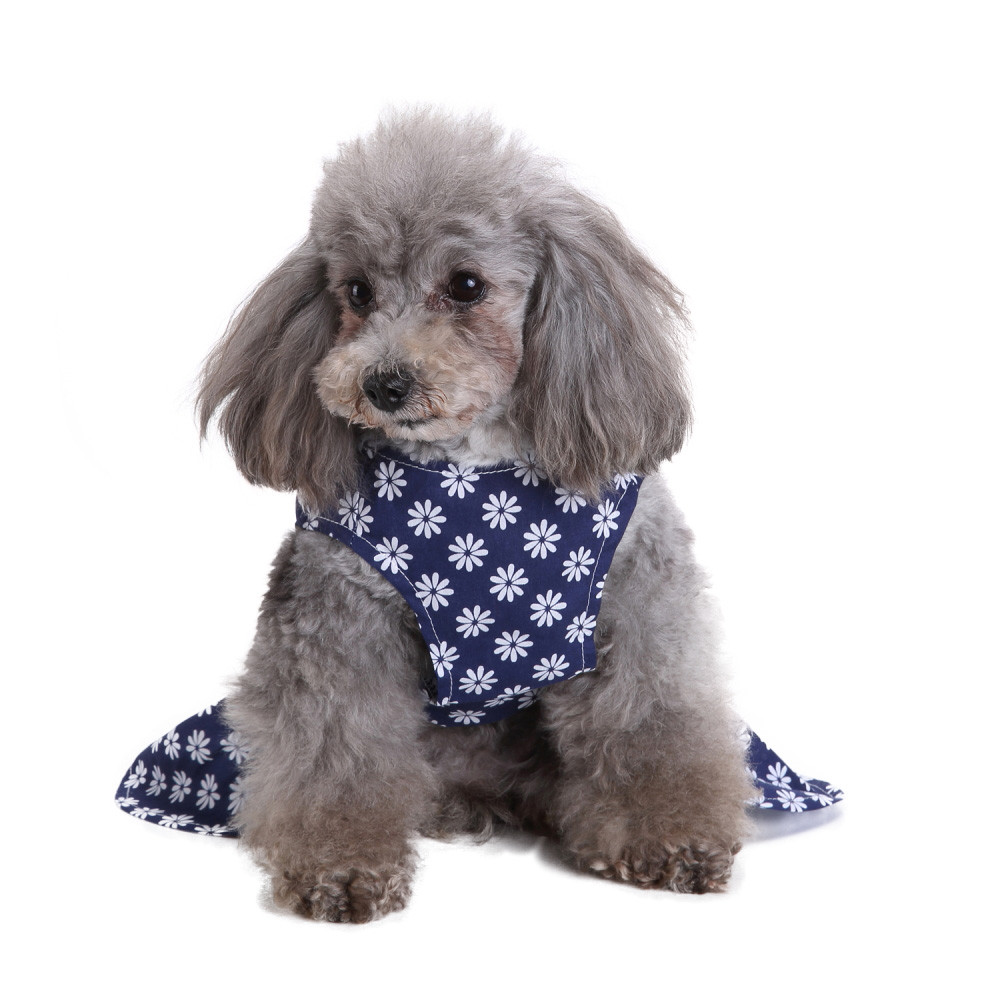 Temperate Pet Dog Dress Print Spring Summer Novelty Dog Clothes Small Dog Skirt Pet Puppy Dog Cute Costume Vestido Para Cachorro Hot Sell Selected Material Dog Clothing & Shoes Home & Garden