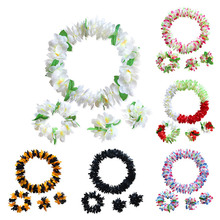 Headband Garland And Neck ring Hawaiian Garland Flowers Wedding Decoration Hawaiian Party Decorations DIY Artificial Flowers dorothea hamm carolin wubbels moments of love flowers and decorations