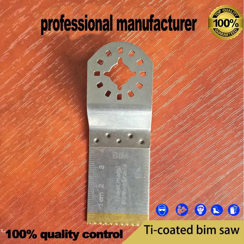 rivestimento in titanio Lama per utensili oscillante righello trasparente Lama per sega a denti fini per tch sega per utensili multimaster per lavorazione dei metalli