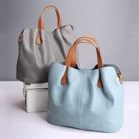 Натуральная кожа сумки из воловьей кожи зерна личи женщин сумки моды Портативный плеча сумки композитные