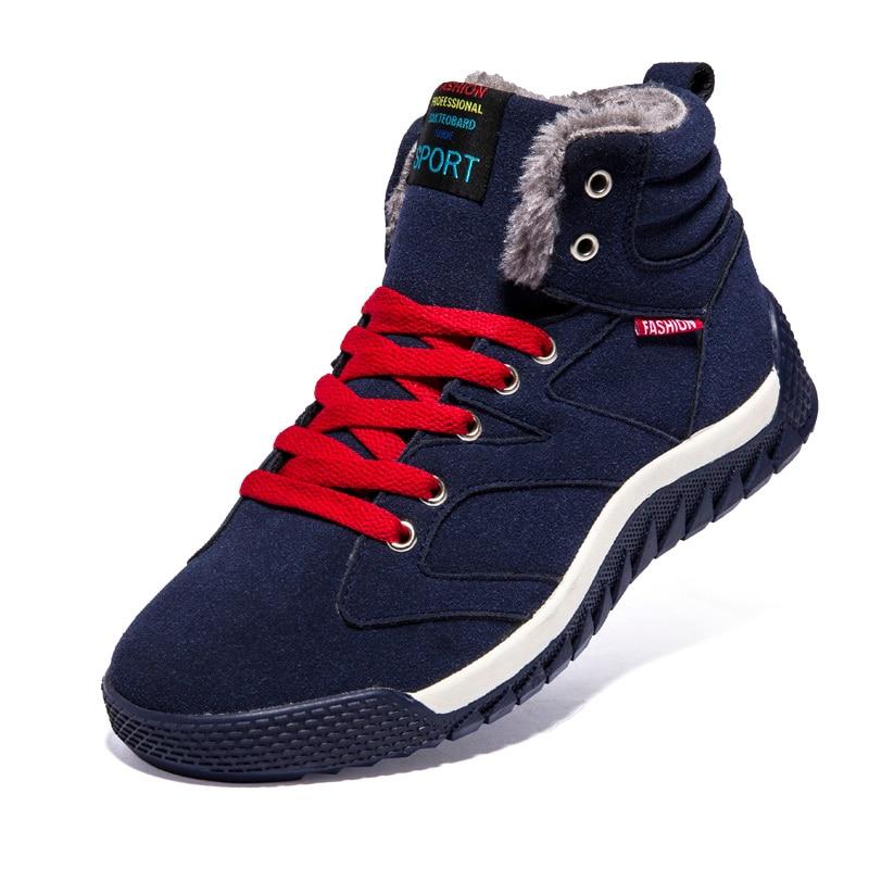 Piel Zapatos Negro Hombres De Trabajo Aire Tobillo Tamaño verde Deporte Zapatillas Gran Militar Botas Chaussure Deportes Punk Con Hombre Los Al azul Libre Nieve Invierno qZOxq1wdtp