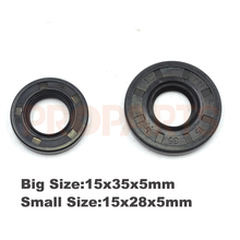 45CC 52CC 58CC 4500 5200 5800 Chinese Chainsaw Oil Seal Set 15X28X5mm 15X35X5mm