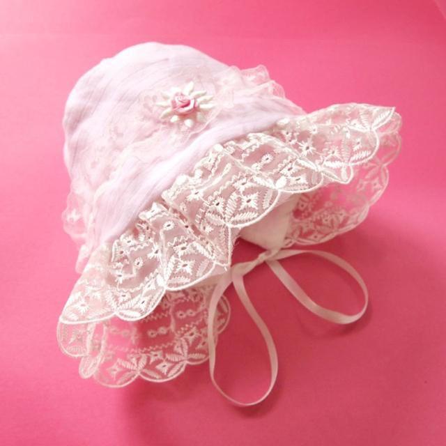 Infant formal dress hat formal dress laciness princess hat 100% cotton