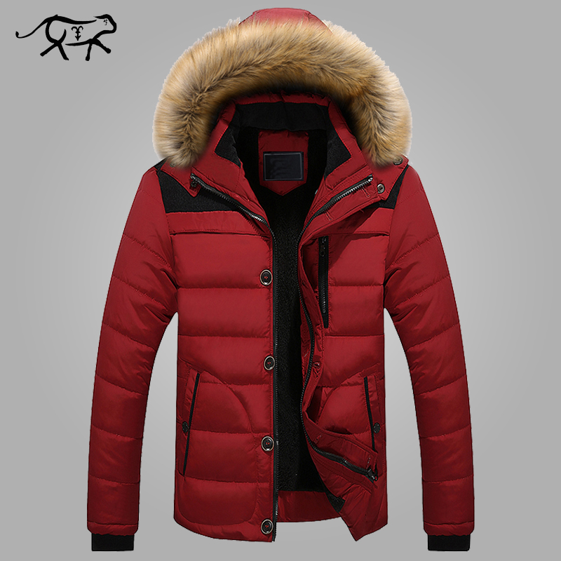 2017 New Winter Jacket Men Warm Coats Brand Fashion Casual Parkas Men Thickening Coat For Winter Cotton-Padded Outwear Clothing hot sale new winter mens jacket and coats fashion men cotton coat hoodies wadded military thickening casual outwear h4573