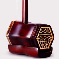 Chinese erhu Chinese instruments professional erhu folk string instruments ebony madeira china redwood with erhu accessories