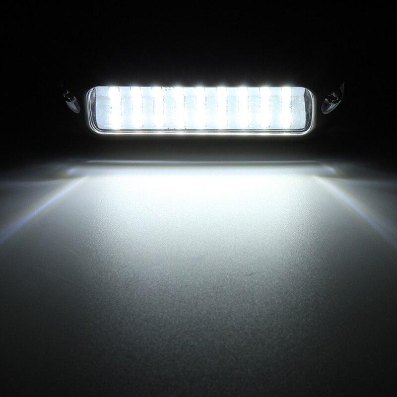 Image 4 - 27 LED 3.5 W Underwater Pontoon Boat Transom Light 12V White Blue Marine Boat Light Waterproof-in Marine Hardware from Automobiles & Motorcycles