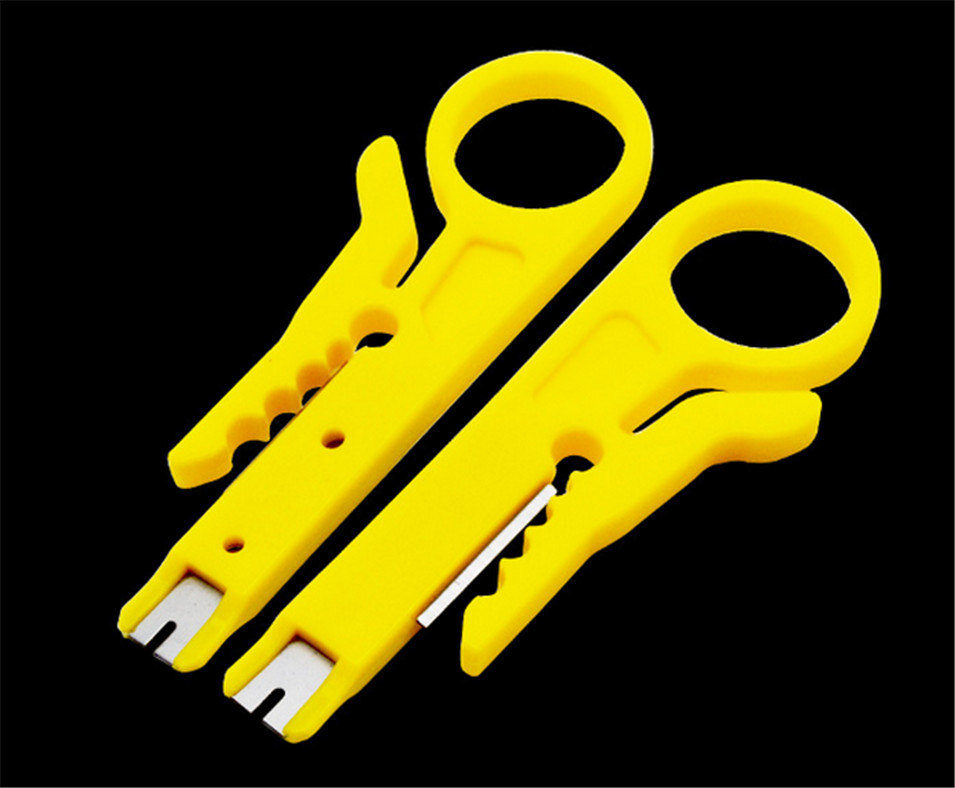 Special Wholesale New Electrician Tools Simple Playing Card Stripping Line Wire Cutter Cable Stripper Novel Pliers 100PC/sets