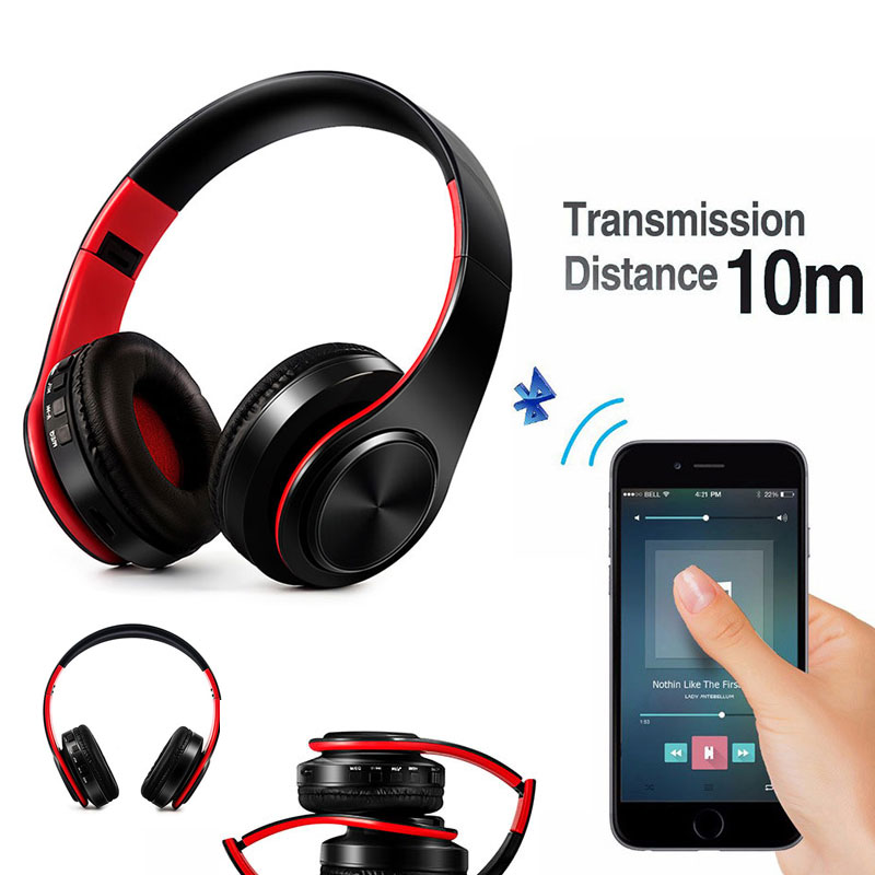 Original Bass bluetooth Headphones Microphone stereo wireless headset bluetooth 4.0 TF Headphon for Iphone Samsung Xiaomi HTC bluedio t4 original wireless headphones portable bluetooth headset with microphone for iphone htc samsung xiaomi music earphone