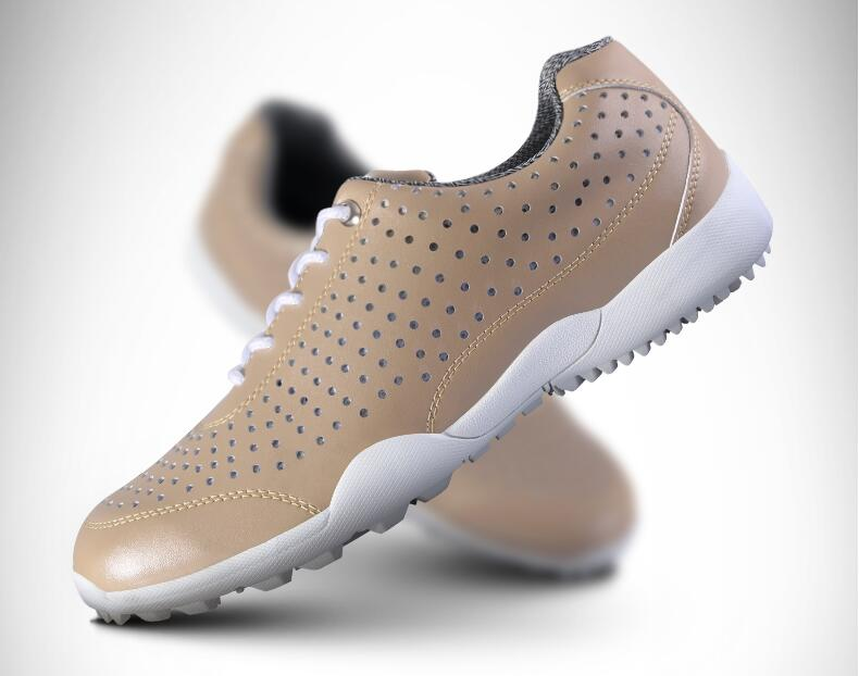 PGM Mesh Holes Summer Man Golf Sports Hole Shoes Comfort Designer MENS Breathable Holes Shoes,Free shipping