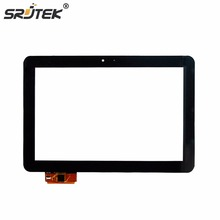 Srjtek New 10.1 Touch Screen For PRESTIGIO MultiPad 4 Ultimate 10.1 3G PMP7100D3G_QUAD Digitizer Panel Tablet Glass Sensor