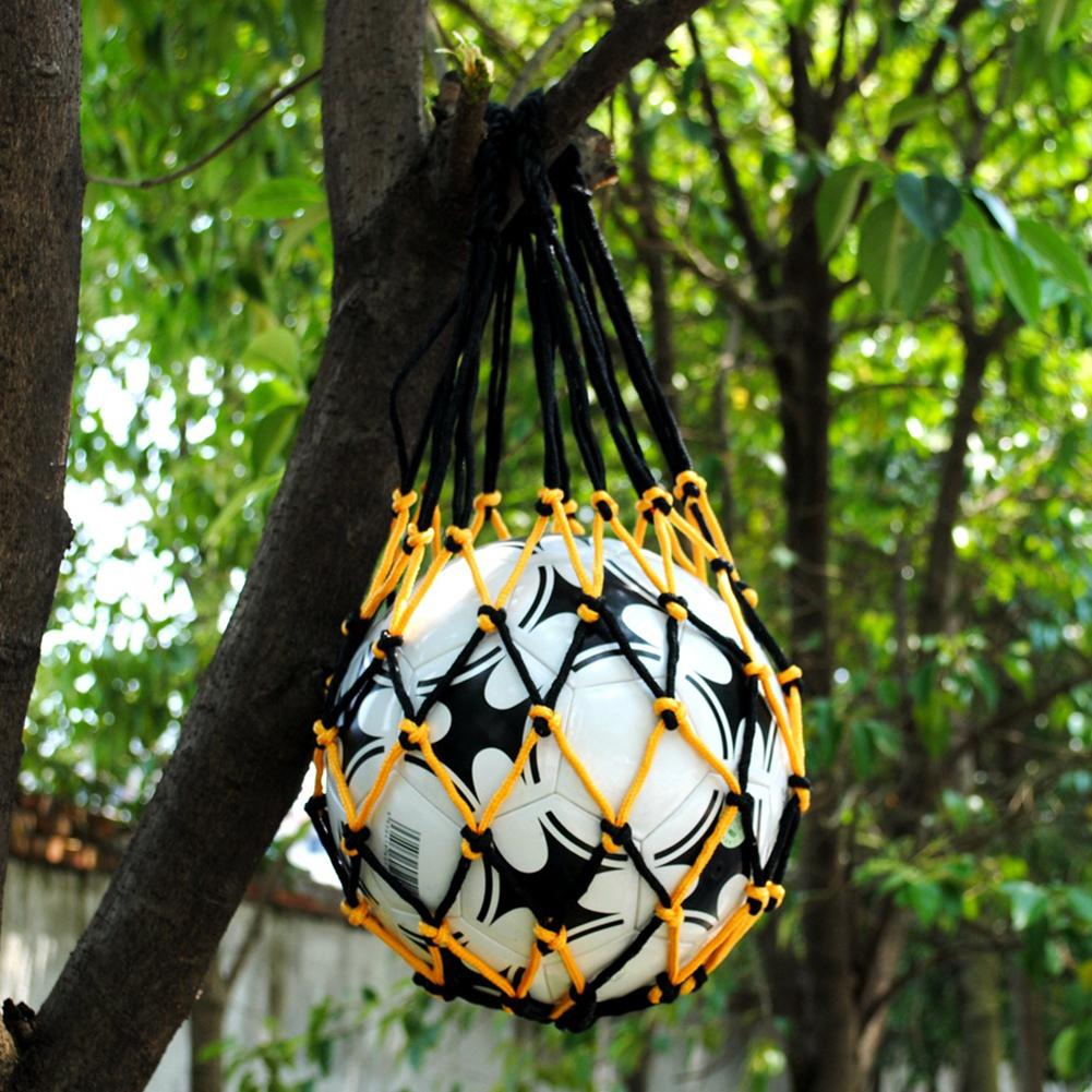 New Portable Basketball Football Soccer Volleyball Carry Mesh Net Bag For 1 Ball To Produce An Effect Toward Clear Vision