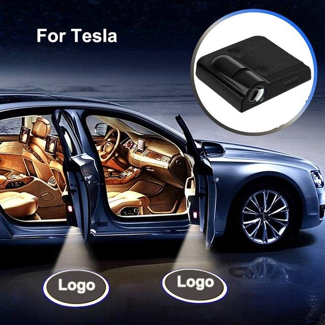 Willkommen Licht Led Tür Licht Auto Tür Beleuchtung Dekorative Lampen Für  Tesla Modell 3 Modell X