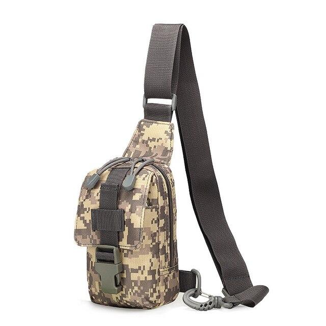 334003d3a82 Hike Nylon Borst Pak Mannen Messenger Bags Borst Tas Apparatuur Crossbody  Sling Mannen Borst Zak Drop