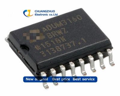 New Original ADUM3160BRWZ ADUM3160BRWZ-RL DGTL ISO 2.5KV 2CH USB 16SOIC