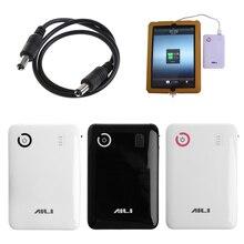 Портативный Регулируемый 5V 9V 12V 18650 батарея зарядное устройство чехол двойной USB порты и разъёмы мобильный запасные аккумуляторы для телефо