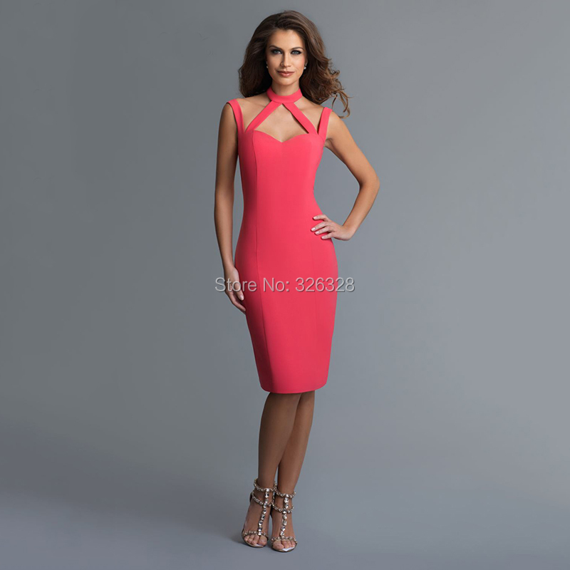 Popular Coral Cocktail Dresses-Buy Cheap Coral Cocktail Dresses ...