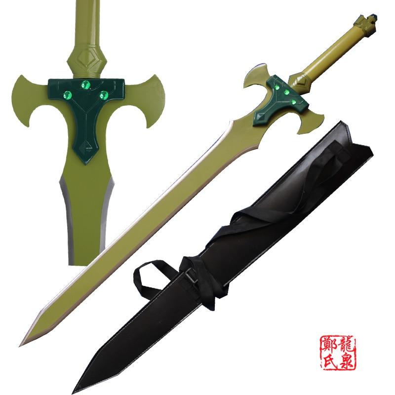 Free Shipping Metal Craft Steel Blade Kirito s holy Sword Excaliber SAO ALfheim Online ALO Animation