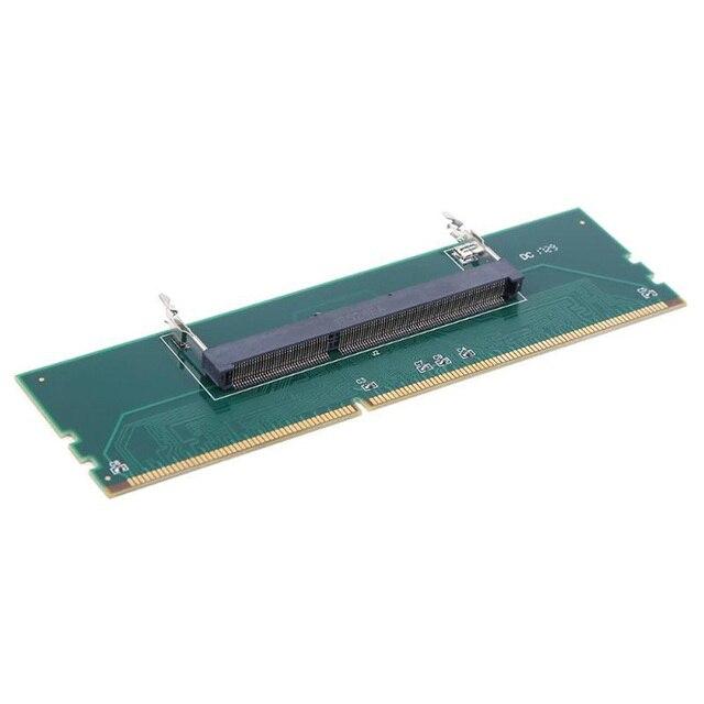 DDR3 dizüstü SO DIMM masaüstü adaptörü DIMM bellek dönüştürücü adaptör kartı