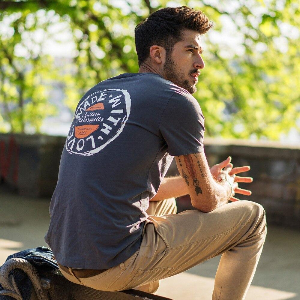 Cheap 17 Designs Mens T Shirt Slim Fit Crew Neck T Shirt: Aliexpress.com : Buy SIMWOOD T Shirt Men 2019 Crew Neck