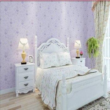 Green Cartoon Ballet Princess Bedroom Wallpaper Fantasy Kids Room Girl Room Non-Woven Wallpaper