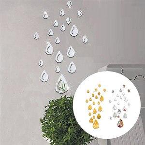 20pcs/set Acrylic Raindrop Mir