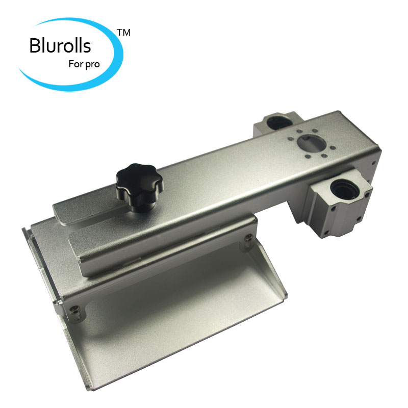 Z axis build plate for DLP SLA 3D printer parts DIY Form Z axis aluminum build platform kit Gray anodized a funssor black anodized z axis build plate form z axis aluminum build platform kit for dlp sla 3d printer