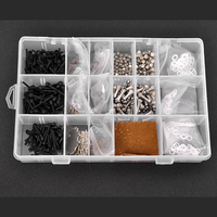 1 Box Of Scissors Repair Part Kit Accessories Including Bumpers Finger Rests Screw Keys Stainless Steel