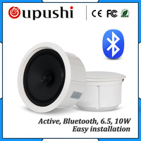 110V abs active pa sound system 6.5 inch ceiling speaker bluetooth 20w Background music system embedded speakers